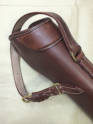 ed266ec4c904 WWI WWII 303 SMLE S.M.L.E. Rifle LEATHER BUCKET – ANTIQUE BROWN